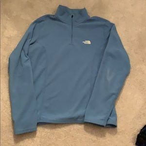 The North Face 1/4 zip fleece size M good cond